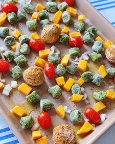 Gnocchi Recipes, Kale Recipes, Primal Recipes, New Recipes, Whole Food Recipes, Healthy Recipes, Healthy Dinners, Healthy Foods, Dinner Recipes