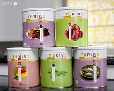 Five simple tips to help you quickly get started saving time and money in the kitchen by cooking with freeze dried foods. Mason Jar Meals, Meals In A Jar, Raw Food Recipes, Food Network Recipes, Jar Recipes, Drink Recipes, Thrive Food Storage, Cooking Channel Shows, White Sauce Recipes