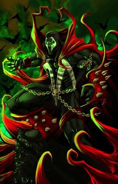 Search 'Spawn' on DeviantArt - Discover The Largest Online Art Gallery and Community Comic Book Characters, Comic Character, Comic Books Art, Comic Art, Character Concept, Concept Art, Spawn Comics, Arte Dc Comics, Anime Comics