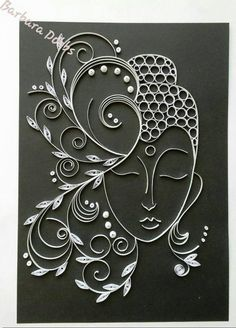 *** Quilling - magic b - Quilling Paper Crafts Paper Quilling Patterns, Quilling Paper Craft, Paper Crafts, Quilling Ideas, Neli Quilling, Quilling Letters, Toilet Paper Roll Art, Rolled Paper Art, Paper Strips