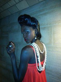 Pearls, pearls, pearls #fashionweek # www.samanthacham.com