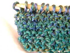 Easy Homemade Knitted Christmas Slippers