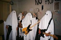 Awsome ghost band at Tayler's Grunge Goth, Estilo Grunge, Aesthetic Grunge, Aesthetic Photo, Aesthetic Pictures, Fotografia Grunge, Signes Zodiac, Sup Girl, The Garden Of Words