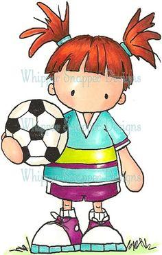 Campo Formativo Sugerido: Desarrollo Físico y Salud | Niña Futbolista | | Búscanos también en https://www.facebook.com/SoyPreescolar