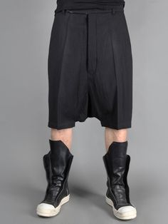 RICK OWENS TROUSERS http://www.creativeboysclub.com/.. i've wanted these boots since they came out!