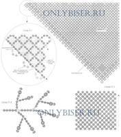 бисероплетение косынка подробная схема плетения: 21 тыс изображений найдено в Яндекс.Картинках