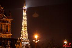 Tour Eiffel - cours photo de nuit