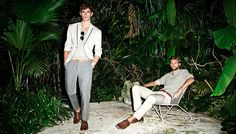 H Spring/Summer 2012 Conscious Men's Collection: High Dedication In Fashion Ethics Through Light Coloured Men's Fashion Trends