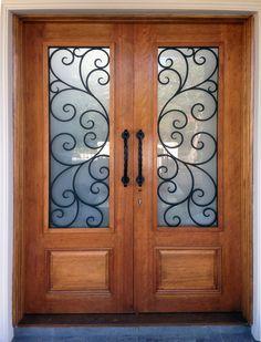 Subiaco. Wood and Iron Door