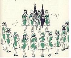 the flag ceremony