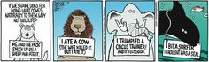 The Other Coast comic strip / amazing wildlife.....