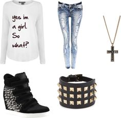"""so what?"" by manda45 ❤ liked on Polyvore"
