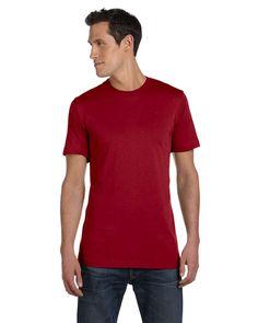 Bella + Canvas Mens Greenwich Short Sleeve T-Shirt 3001C