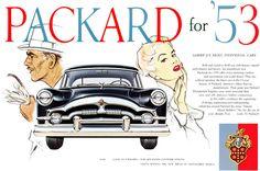 Plan59 :: Classic Car Art :: 1953 Packard