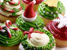 Christmas Cupcakes Decoration Ideas
