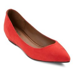 9ab605065 Target! Women's Drew Ballet Flats - Red Size 6 Woman Drawing, Colorful Shoes ,