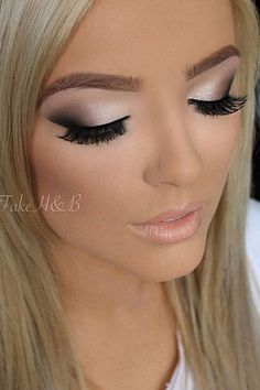 Smokey Eye Makeup Ideas 4335 #HairstylesForWomenEyeMakeup