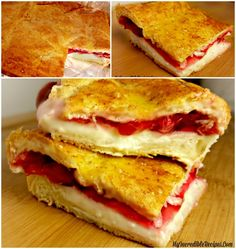 Sopapilla Cherry Cheesecake Bars! You could use Blueberry, Lemon, Pineapple, Apple, Strawberry, even Peach !