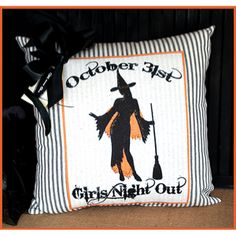 Cute Halloween pillow for home decor!