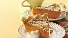 A hint of maple blends in beautifully, making a tempting pumpkin pie absolutely irresistible!