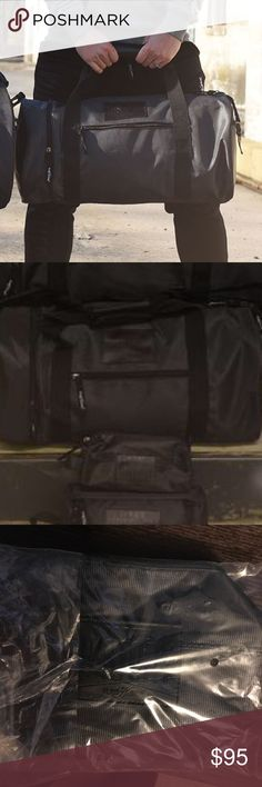 Flag nor Fail Overnight duffle bag Overnight duffle bag and small toiletry bag for sale. Brand new, never opened. Link to sizes: https://flagnorfail.com/collections/bags/products/ultimateduffleset these are the black bags which are sold out. flag nor fail Bags Duffel Bags