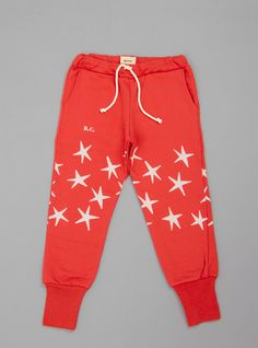 Couverture and The Garbstore - Childrens - Bobo Choses - Cotton Tracksuit Pants Tracksuit Pants, Sweatpants, Kid Styles, Little Man, Baby Baby, Children, Kids, Lounge Wear, Style Me
