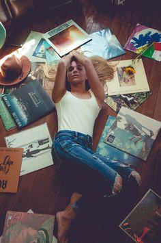 Vinyl Record Home Photoshoot with Drishti Aesthetics