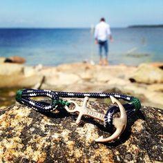 Tom Hope Mediterranean Green anschor bracelet 36€