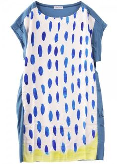 like the cut and colors. Pattern is okay, but like the idea of an easy, patterned dress with a loose cut.