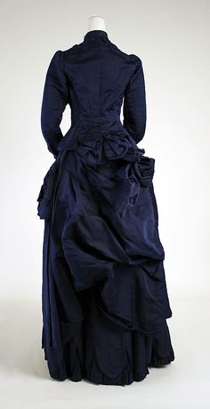 Dress. 1880 - 1885. Metropolitan Museum of Art - Costume Institute.