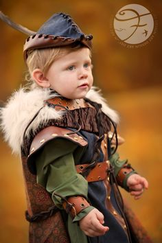 Robin Hood Boys Costume Renaissance Fair Hand Made DIY