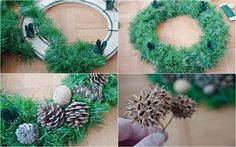 My Trash and Treasure: advent wreath diy