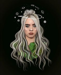 Billie Eilish Aesthetic Wallpaper Sad 35 Ideas For 2019 Music Wallpaper, Wallpaper Iphone Cute, Cartoon Wallpaper, Cute Wallpapers, Tumblr Drawings, Cute Drawings, Girl Cartoon, Cartoon Art, Billie Eilish Xanny