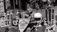 A baby-faced Tony at 8 yrs. old with is 15 trophy's in 1979! :D  -- Tony Stewart through the years | NASCAR.com
