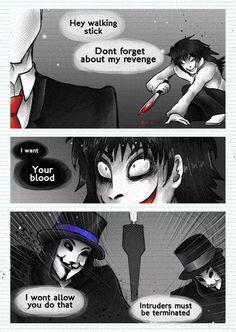 Proxy high vs creepypasta p-2PH Official Comic - Pasta Mas Hysteria II by UmmuVonNadia.deviantart.com on @DeviantArt