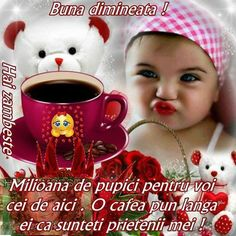 Clara Alonso, Good Morning, Lily, Teddy Bear, Mugs, Tableware, Animals, Pictures, Buen Dia