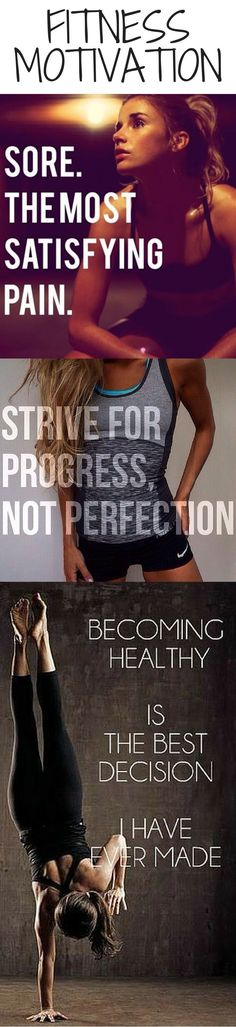 Some awesome quotes we complied for you - 15 Awesome Fitness Motivation Quotes/Pics For Women: http://healthandhappyhour.com/15-awesome-fitness-motivation-quotespics-for-women/ Motivational quotes motivation quotes #motivation #quote