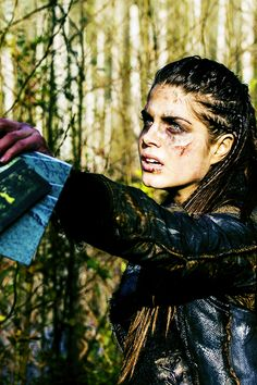 Octavia in The 100- she becomes such a badass-best character development