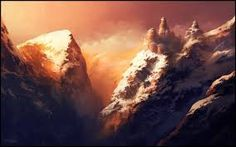 Image result for fantasy mountain