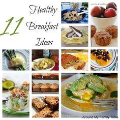 11 Healthy Breakfast Ideas