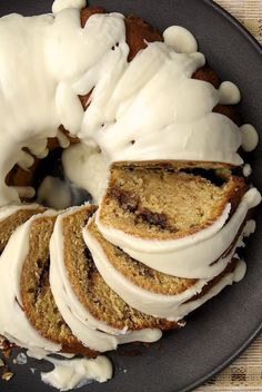 Cinnamon Roll Cake takes all the flavors you love in cinnamon rolls and puts them into a delicious cake