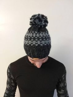 7e30599e51b77 62 Best Knitted Pom-Pom Hats images in 2019