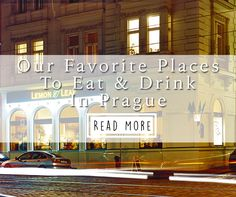 We spent 3 months living in Prague, which allowed us to dine at restaurants all around the city. Here are our top 12 places to eat & drink in Prague.