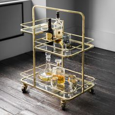 Are you interested in our Bar trolley? With our Contemporary bar trolley you need look no further. Ikea Bar Cart, Bar Cart Decor, Bar Trolley, Drinks Trolley, Bar Carts, Trolley Dolly, Stirling, Halo Bar, Hostess Trolley