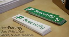 How Procurify Uses Wrike to Gain Visibility and Meet Deadlines. Read their story here: https://www.wrike.com/blog/how-procurify-uses-wrike-to-gain-visibility-and-meet-deadlines/?utm_source=pinterest&utm_medium=socials&utm_campaign=blogposts