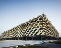 king fahad national library by gerber architekten