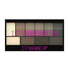 I ♡ Makeup I ♡ Obsession palette-Born to Die - 3 for 2! I ♡ Makeup selected palettes - PALETTES