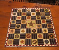 Love this happy Patriotic quilt - was part of my JLW Club 11, retired.