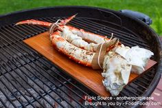 Planked King Crab Legs and Grilled Lobster Tails — Another Pint Please Grilled Lobster, Grilled Seafood, Fish And Seafood, Cooking Bacon, Cooking Recipes, Crab Legs On The Grill, King Crab Legs, Baked Pie Crust, Lobster Tails