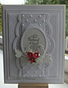 a red in white. beautiful #Cards #Handmade #DIY #Craft